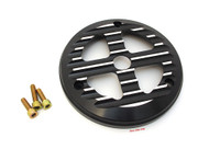 Joker Machine CB750 Clutch Cover - Black Ducati Style Cut Out