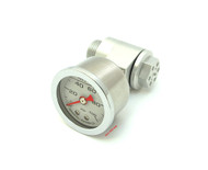 Joker Machine CB750 Oil Pressure Gauge Assembly - Clear