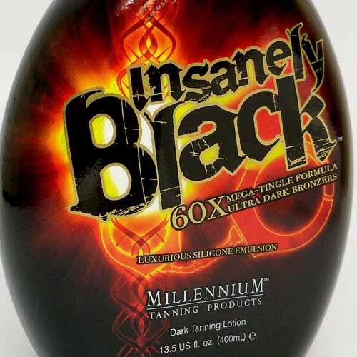 Millennium INSANELY BLACK 60X Mega-Tingle Bronzer - 13.5 oz.
