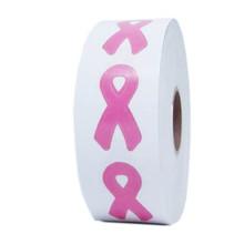 PINK RIBBON Body Stickers - 1000 ct.