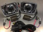 SilverLine Bi-Xenon HID Projector Headlights (FC3S RX-7)