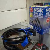 FC3S NGK Blue spark plug wires, OEM fitment