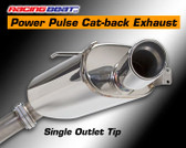 Racing Beat - Cat-Back Exhaust - Single Tip 93-95 RX-7