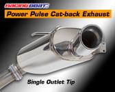 Racing Beat - Cat-Back Exhaust - Single Tip 93-95 RX-7