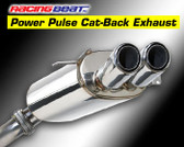 Racing Beat - Cat-Back Exhaust - Dual Tips 93-95 RX-7