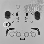 B Body 1968 68 Charger Paint Exterior Gasket Set