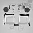 B Body 67 Belvedere Paint / Exterior Gasket Set