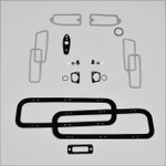 Mopar B Body 70 Dodge Coronet Paint Exterior Gasket Set BASIC