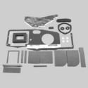 70-74 E Body BASIC A/C Heater Box Restoration Kit