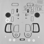 Mopar A Body 69 Barracuda Paint Exterior Gasket Set