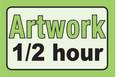 1/2 Hour Artwork