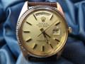 1974 Vintage Rolex President Day Date 18k Gold Ref 1803 4 Mil Serial #