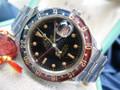 1958 RARE Rolex GMT Master Ref 6542 No Crown Guard Bakelite Bezel Boxes & Paper