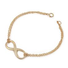 Infinity Bracelet 18K Gold vermail