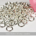 16g Nickel Silver Jump Rings
