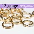 12g 14K Gold Fill Jump Rings