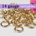 14g 14K Gold Fill Jump Rings