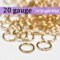 20g 14K Gold Fill Jump Rings