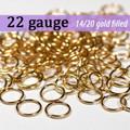 22g 14K Gold Fill Jump Rings