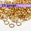 24g 14K Gold Fill Jump Rings