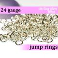 24g Silver Fill Jump Rings