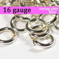 16g Silver Fill Jump Rings