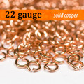 22g Copper Jump Rings