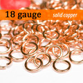 18g Copper Jump Rings