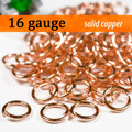 16g Copper Jump Rings