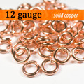 12g Copper Jump Rings