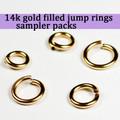 14K Gold Fill Jump Ring Sampler Packs