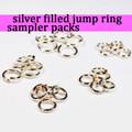 Silver Fill Jump Ring Sampler Packs