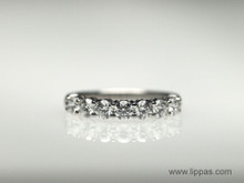 Platinum Tiffany & Co. Diamond Band