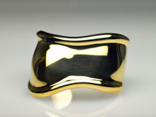 "18 Karat Yellow Gold Tiffany & Co. ""Bone Cuff"""