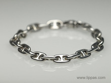 Tiffany & Co. Silver Anchor Link Bracelet.