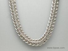 Tiffany & Co. Large Silver Link Necklace