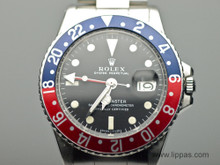 "Stainless Steel Rolex GMT Master ""Pepsi"" Model 1675"