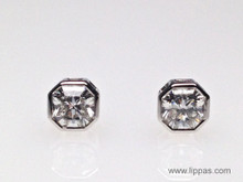 Platinum Tiffany & Co. Lucida Diamond Stud Earrings