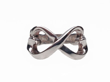 Tiffany & Co. Silver Double Loving Hearts Ring By Paloma Picasso