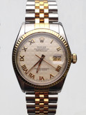 Mens Steel and Gold Rolex Datejust