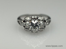 Platinum 1930's Diamond Ring