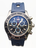 Stainless Steel Breitling Superocean Chronograph Watch