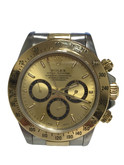18 Karat Gold and Stainless Steel Rolex Daytona