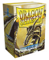 Gold Dragon Shield Sleeves for Magic: The Gathering Cards 100ct