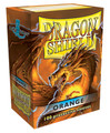 Orange Dragon Shield Sleeves for Magic: The Gathering Cards 100ct