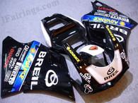 Ducati 748/916/996/998 BREIL fairing kits, this Ducati 748/916/996/998 replacement fairing was applied in BREIL graphics, this Ducati 748/916/996/998 fairing set comes with the both color and decals shown as the photo. If you want to do custom fairings for Ducati 748/916/996/998,our talented airbrusher will custom it for you.