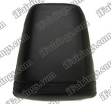 Black rear pillion passenger seat for 2001 2002 2003 Honda CBR600 F4i. it is made of synthetic Leather, high-density foam, high quality ABS plastic and comes with all the mounting brackets.