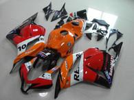 Honda repsol graphic fairing for 2009 to 2012 Honda CBR600RR, Honda CBR600RR repsol fairing kits.