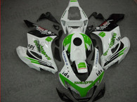 Honda CBR1000RR 2004 2005 Konica Minolta fairing kits, this Honda CBR1000RR 2004 2005 plastics was applied in Konica Minoltagraphics, this 2004 2005 CBR1000RR fairing set comes with the both color and decals shown as the photo.If you want to do custom fairings for CBR1000RR 2004 2005,our talented airbrusher will custom it for you