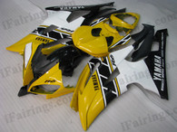 OEM quality fairings and body kits for 2008 2009 2010 2011 2012 2013 Yamaha YZF-R6 with 50th anniversary color scheme/graphics, these fairing kits are oem quality, fast shipping and easy installtion. More factory color-matched fairings for YZF-R6 2008 2009 2010 2011 2012 2013, team race replica fairings and custom fairing sets for Yamaha YZF-R6 2008 2009 2010 2011 2012 2013, please browse iFairings.com.